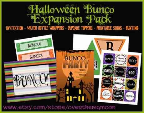 Amazing Halloween Bunco Printables Download Free Architecture Designs Scobabritishbridgeorg