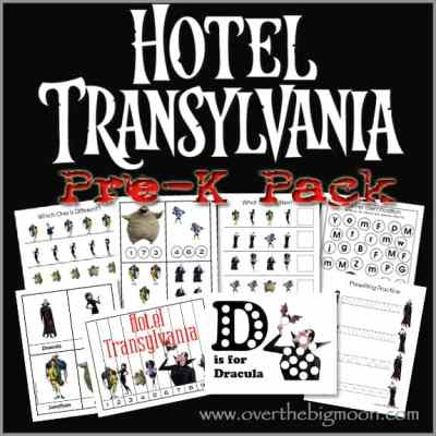 Hotel Transylvania Pre-K Pack