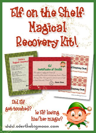 photograph relating to Elf on the Shelf Return Letter Printable called Elf Magical Restoration Package