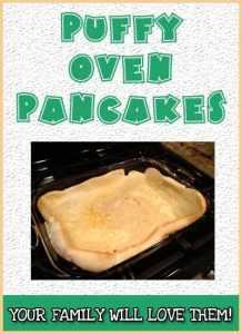 Puffy Oven Pancakes (aka German Pancakes)