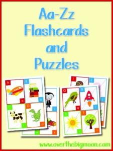 Aa-Zz Flash Cards and Puzzles