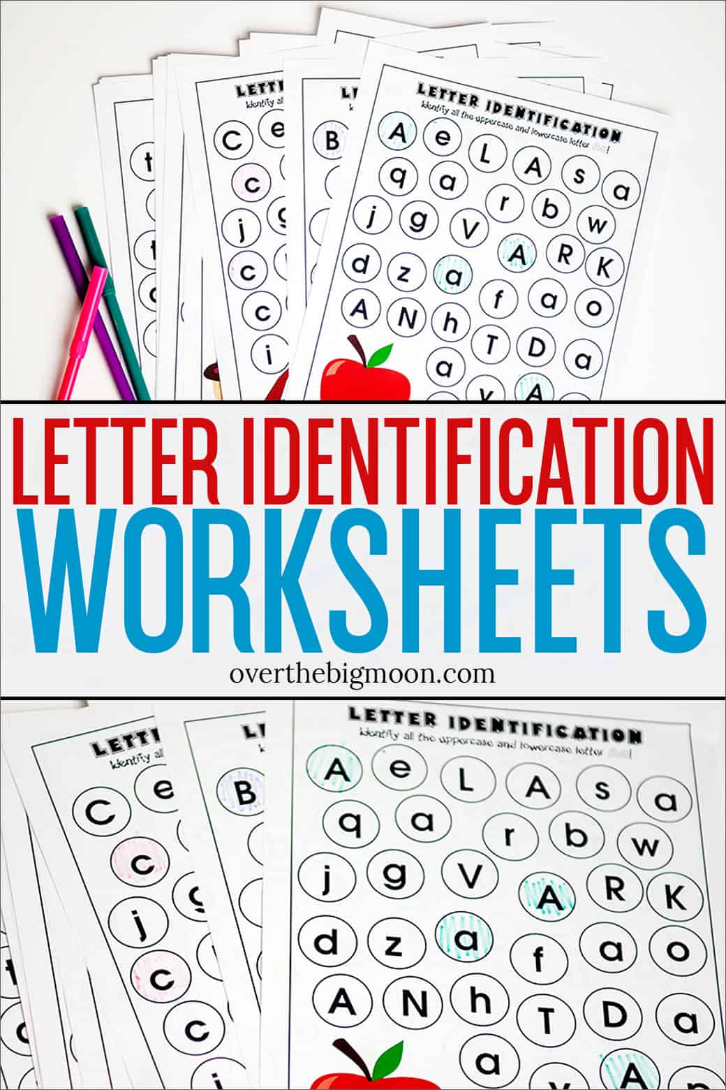 Full Alphabet Letter Identification Printables
