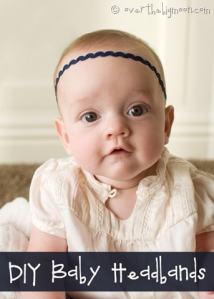 DIY Baby Headbands for Super Cheap