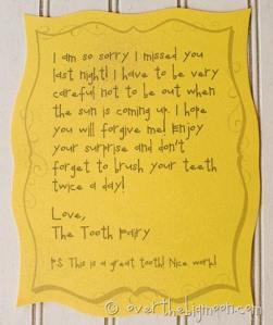 Forgetful Tooth Fairy