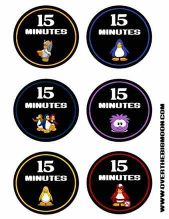 club penguin Tokens