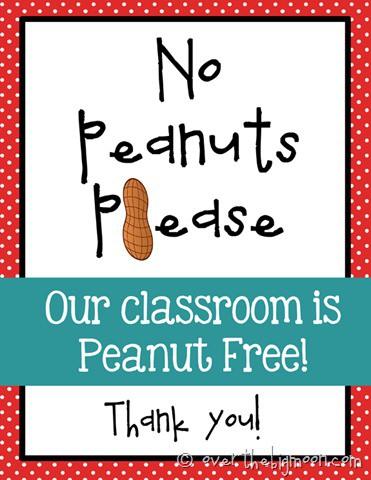 No peanut please red