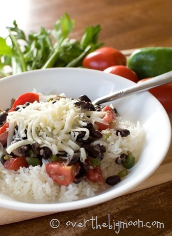 Caribbean Rice and Beans 8