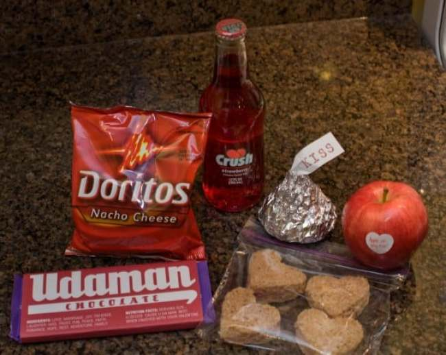 Valentine's Day Lunch Idea for School Kids