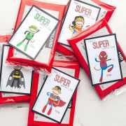 Printable Sock Monkey themed Valentine's Printable! From overthebigmoon.com!
