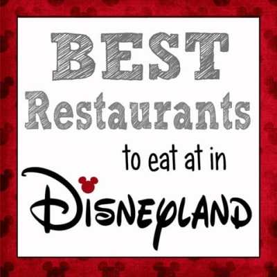 The Best Places to Eat in Disneyland