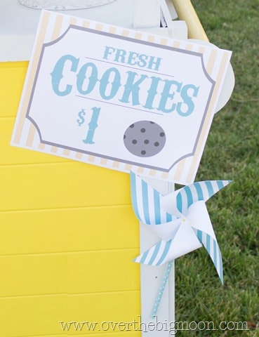 picture relating to Lemonade Sign Printable named Free of charge Lemonade Stand Printables
