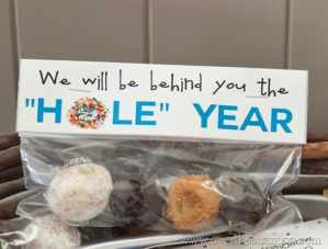 Donut Hole Teacher Gift