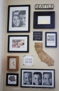 Road Map Inspirational Wall + Free Printables
