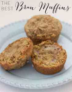Hot Bran Muffins Every Morning