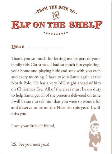 elf-letter
