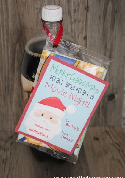 Easy Neighbor Gift Idea - from www.overthebigmoon.com
