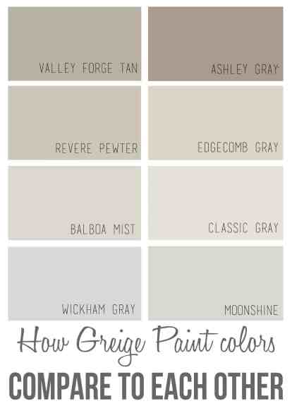 best benjamin moore greige paint colors