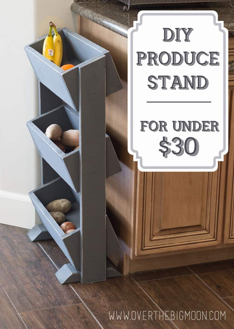 Diy Produce Stand For Under 30