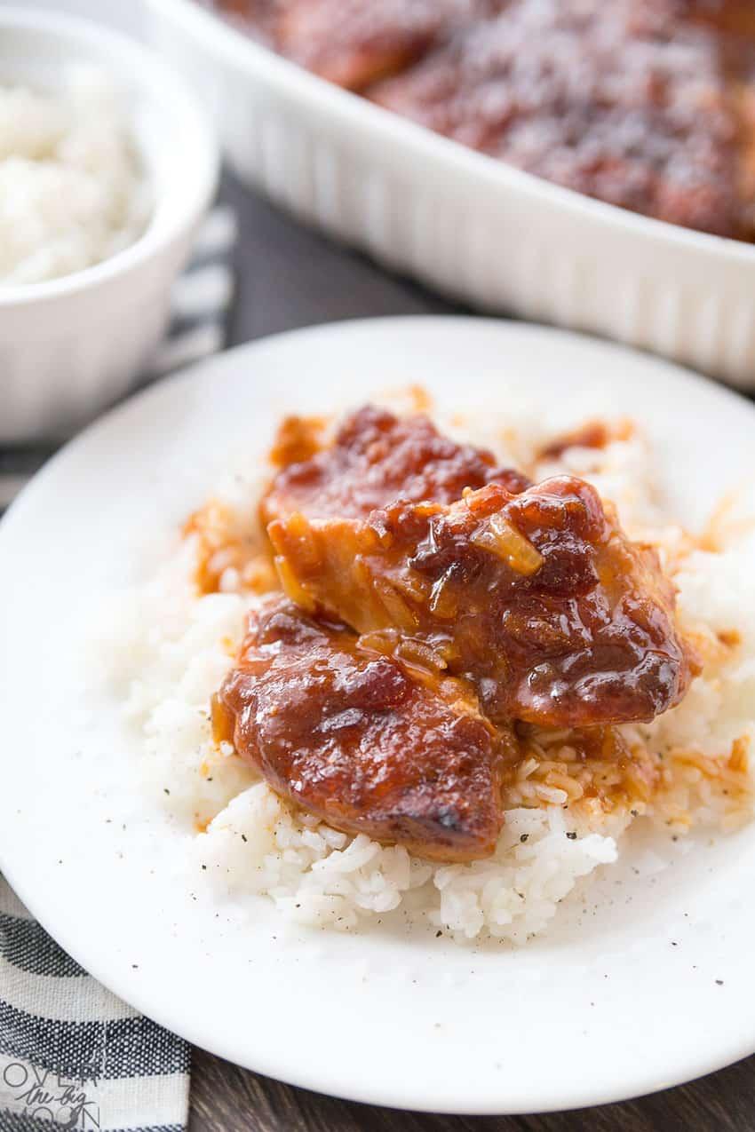 French Chicken -- a super easy 4 ingredient dinner idea!