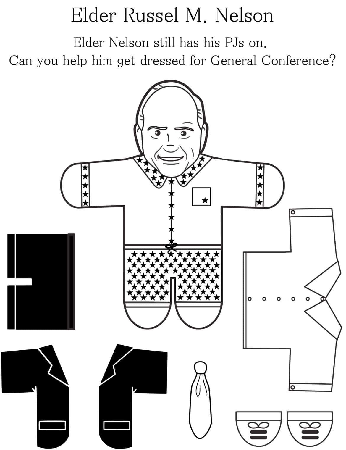 General Conference Printables And Ideas For Kids