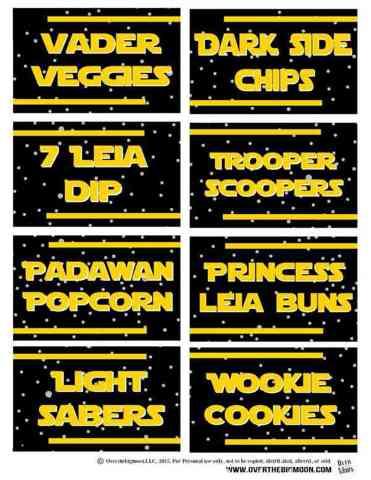 star wars food labels 2