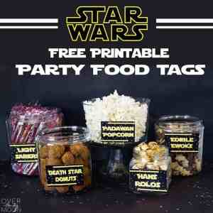 May the 4th Be with You - Star Wars Food Free Printables
