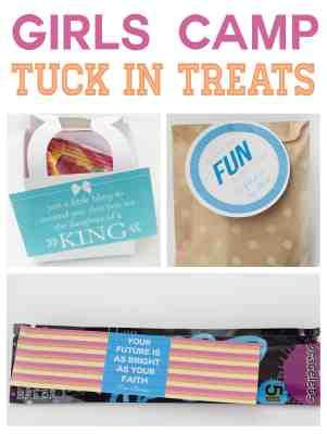Girls Camp Tuck in Treats