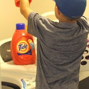 How to Teach Your Young Kids to do Laundry | Over the Big Moon