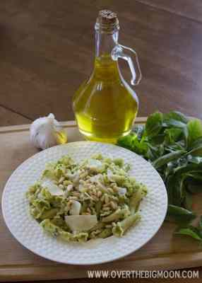Growing Basil to make Fresh Pesto!