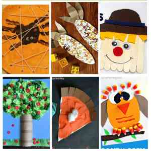 35 Easy And Cheap Fall Kids Crafts Over The Big Moon