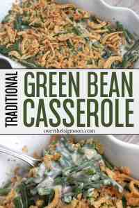 A classic Green Bean Casserole that should make an appearance at every holiday dinner table! From overthebigmoon.com!