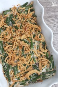 Traditional Green Bean Casserole - this casserole is a classic and the perfect side to most dinners and a must at holiday meals!!