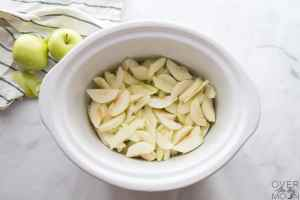 Granny Smith apples in a Crockpot!