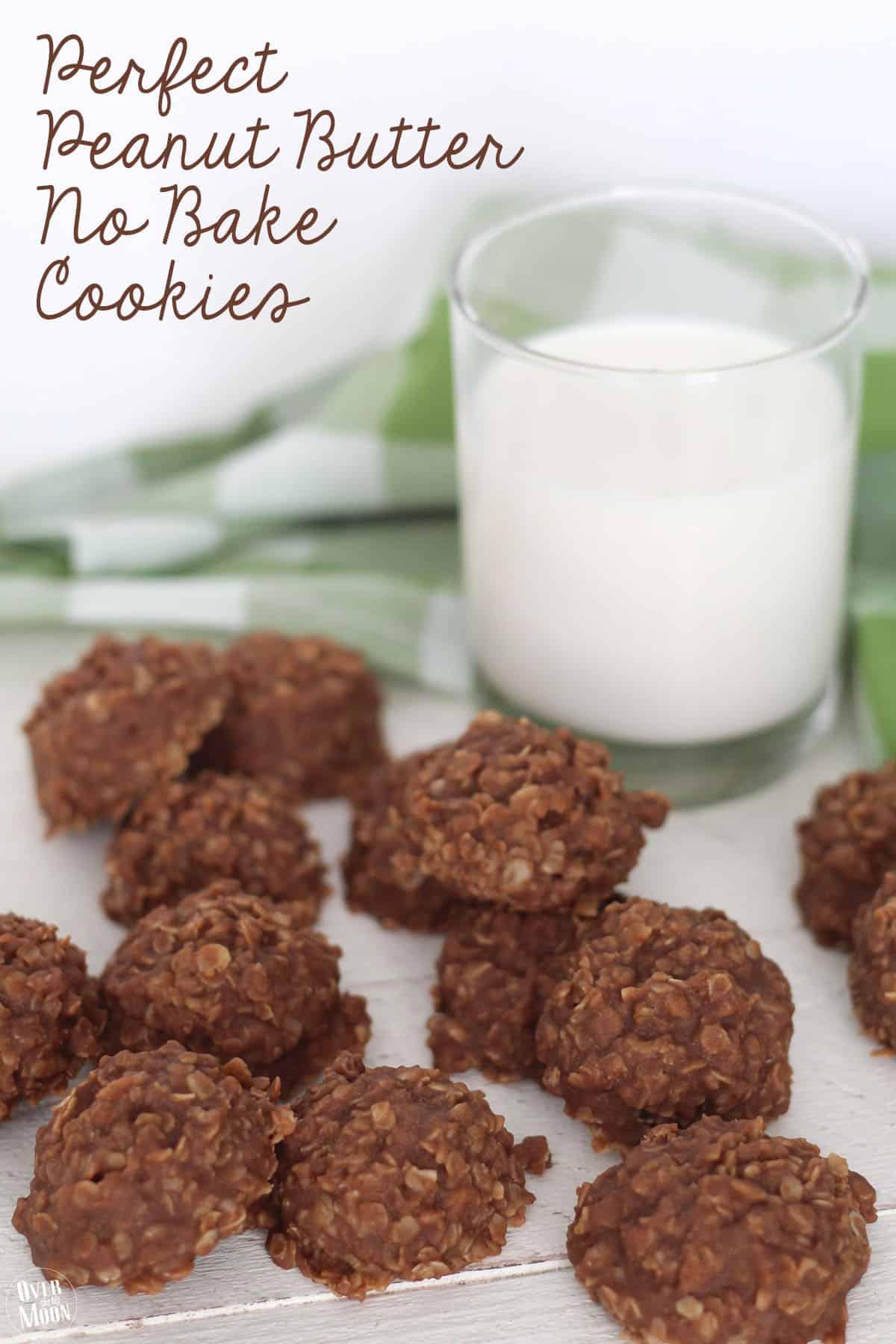 photo regarding Printable Cookies identify Great Peanut Butter No Bake Cookies Fresh Neighbor