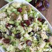 Chicken Cabbage Ramen Salad | www.overthebigmoon.com