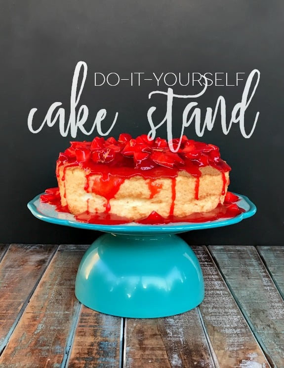 Easy DIY Cake Stand
