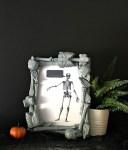 DIY Halloween Skeleton Frame