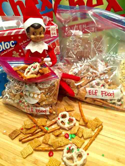 Hungry Elf on the Shelf