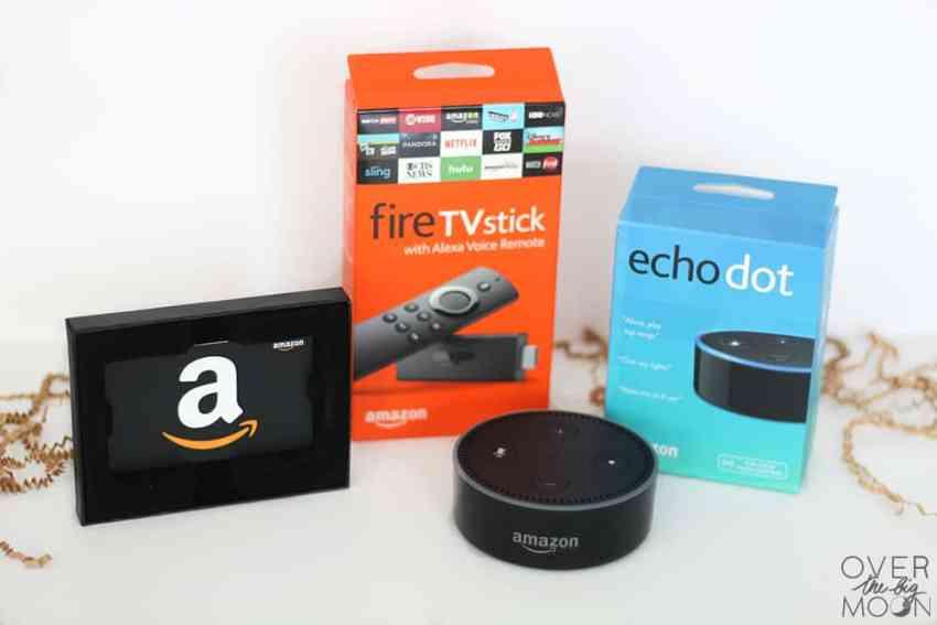 Amazon themed Giveaway - Amazon Echo Dot, Amazon Fire Stick and $50 Amazon Gift Card!