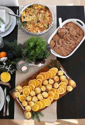 Christmas Brunch Recipe Ideas from www.overthebigmoon.com!
