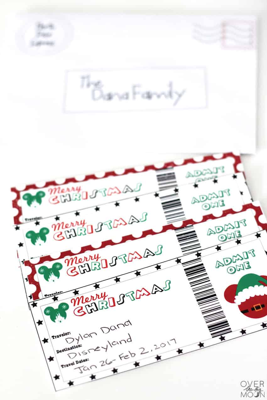 graphic relating to Printable Tickets titled How towards Present Disney toward Your Relatives with Printable Tickets