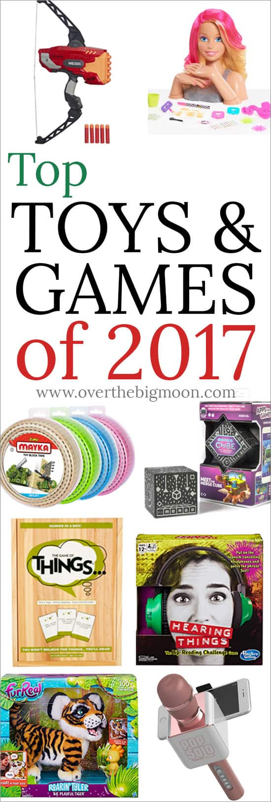 Top Toys and Games of 2017 - from overthebigmoon.com! Need help finishing up your shopping this year? Then check out this guide!