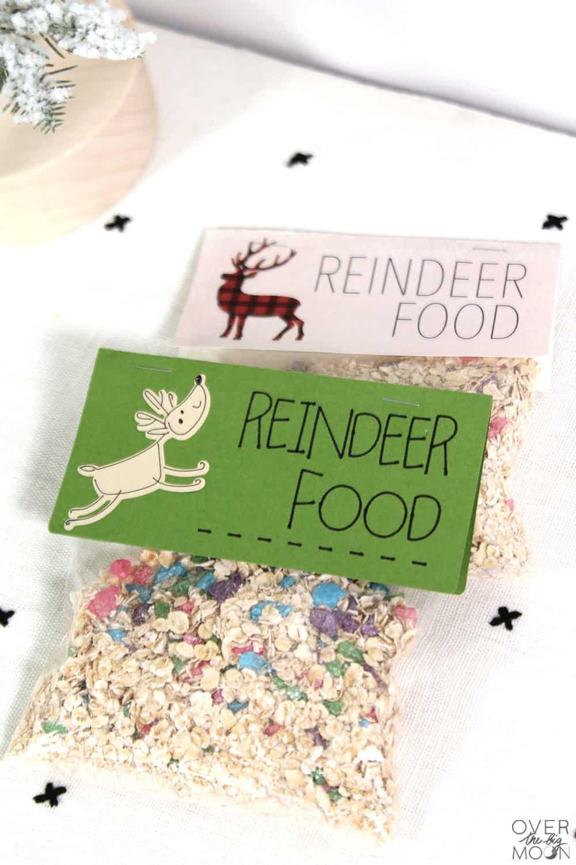 graphic regarding Magic Reindeer Food Printable titled Magic Reindeer Foodstuff Recipe - Around the Significant Moon