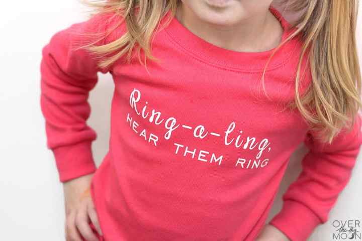 Christmas Carol song lyrics put on Christmas PJ's ! From overthebigmoon.com!