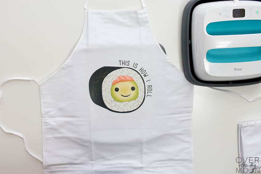 How to Apply Cricut Iron On Designs from overthebigmoon.com!