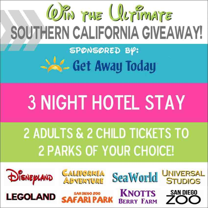 Southern California Giveaway Package - from overthebigmoon.com!