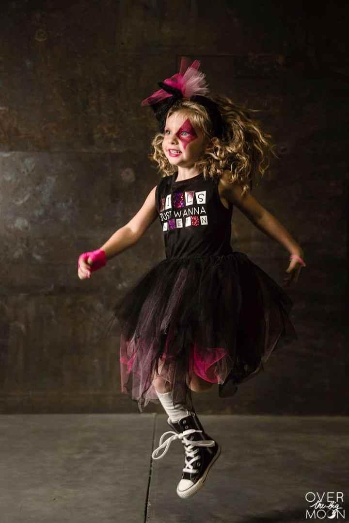 Little Girls Rocker Costume! From overthebigmoon.com!