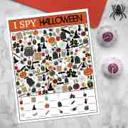 Halloween I Spy Game | overthebigmoon.com
