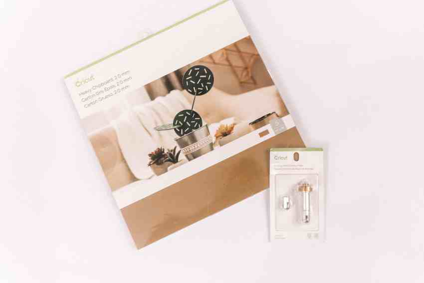 Cricut Chipboard and Scoring Wheel to make DIY Engraved Gift Tags | Overthebigmoon.com