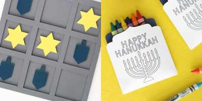 Kids Hanukkah Game & Activities from overthebigmoon.com!